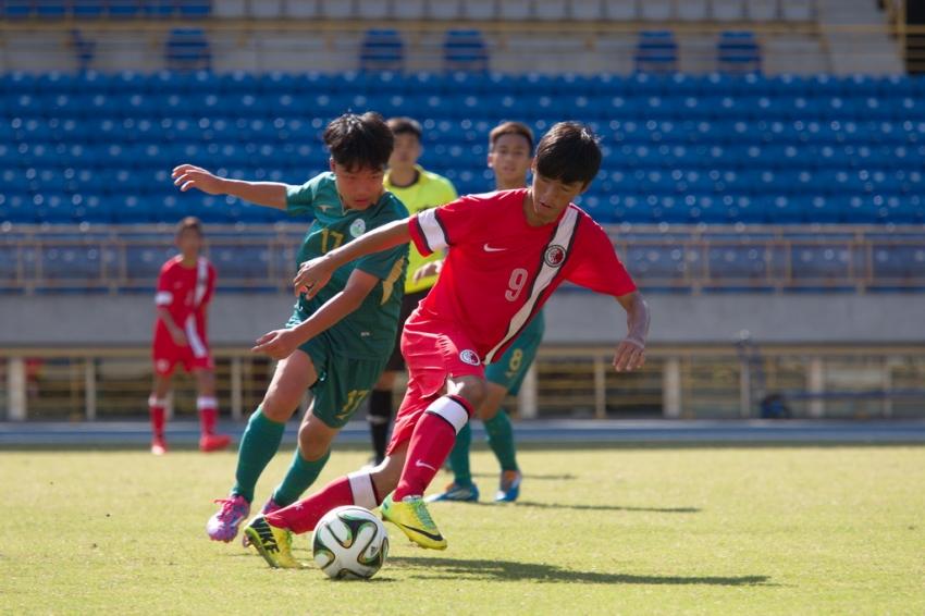 香港擊敗澳門取得第三名