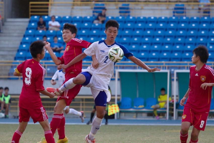 中華隊最終以淨勝球差負於中國