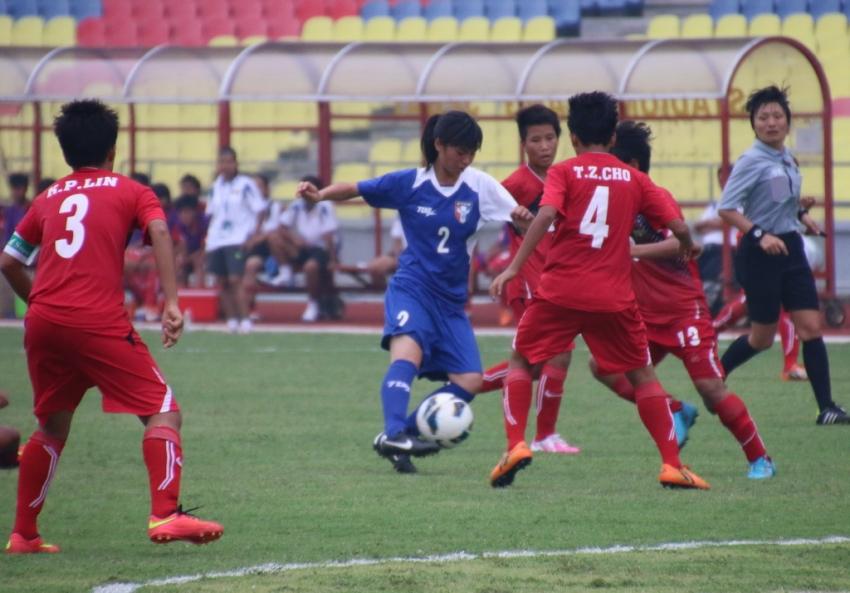 緬甸始終無法突破中華隊防線