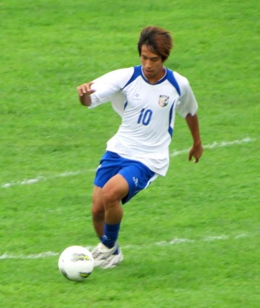 林昌倫的進攻戰力,贏得緬甸職業隊教練的關注。