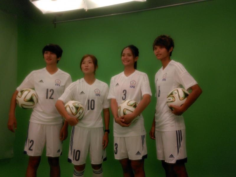 東亞盃足球錦標賽宣傳影片拍攝現場