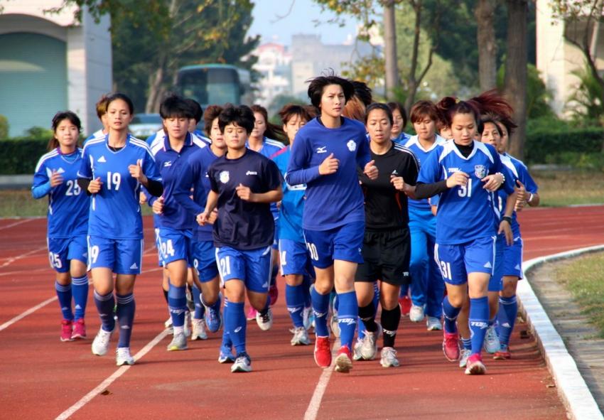 中華女足9日對決中國女足  檢驗訓練成效