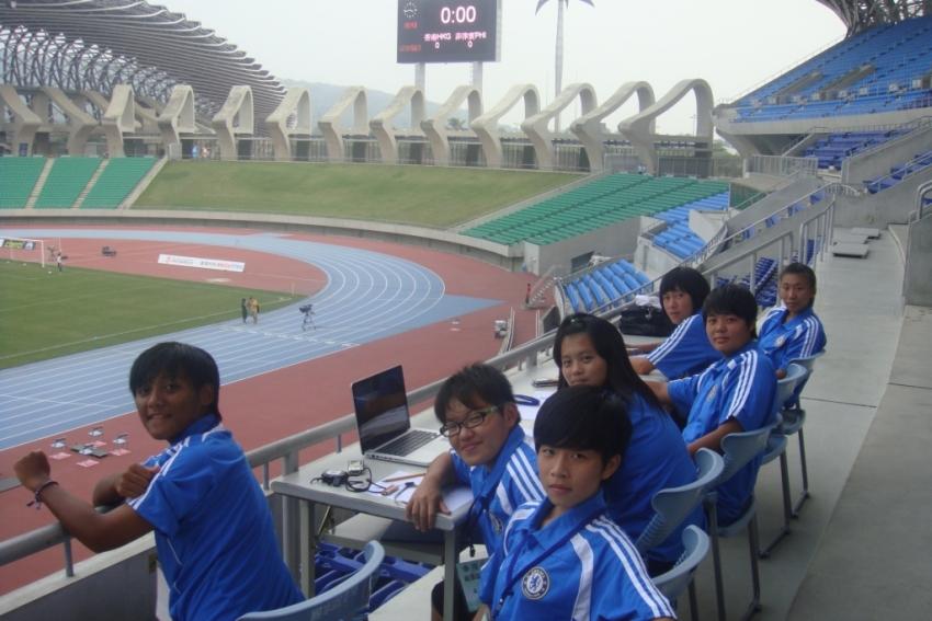 龍騰盃技術分析小組-中山工商女足