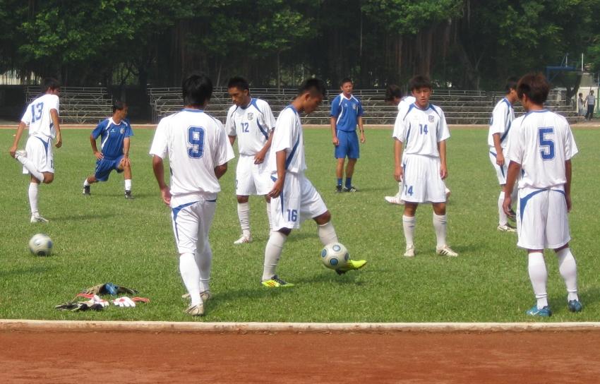 U19中華隊在台南北門高中集訓