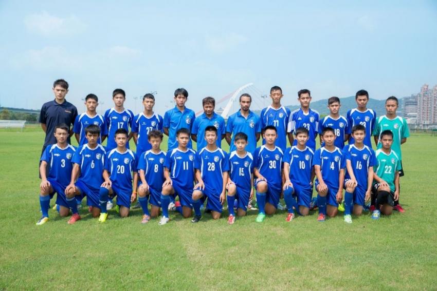 中華U-16男子代表隊將於本月19日出征香港