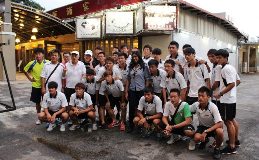 中華隊職員8日的遊覽在晚餐後結束