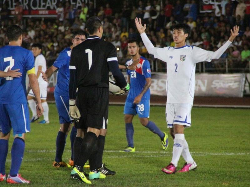 菲律賓球員動作粗野,與中華球員衝突場面不斷