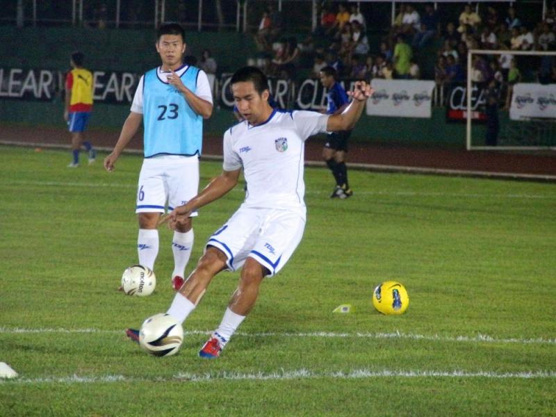 林昌倫渴望出國踢球