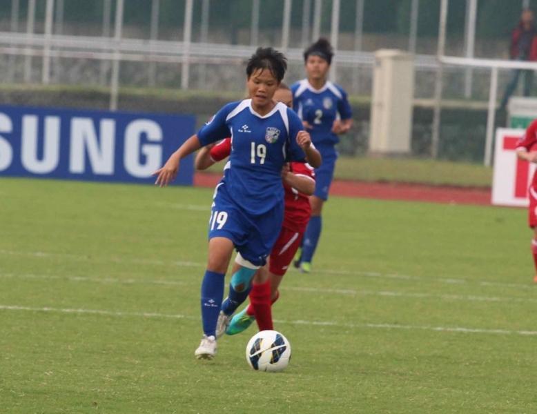 潘昕妤於會外賽、亞洲盃都有進球