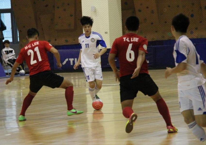 TPFC球員王乙翔(左二),今天也有取得1顆寶貴進球。
