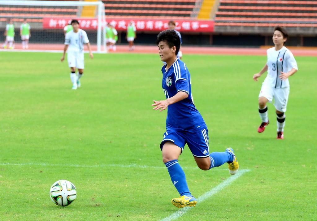 亞運女足》亞運前最終調整 林凱玲兩球助中華擊敗香港